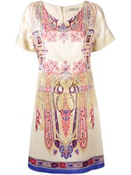 Etro Abstract Print T Shirt Dress