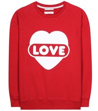 Each X Other Printed Cotton Sweatshirt Red
