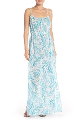 Women's Michael Michael Kors 'Latana' Cotton Cover Up Maxi Dress
