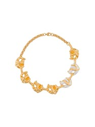Marni Lily Chunky Necklace Gold