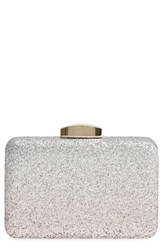 Nordstrom Ombre Glitter Minaudiere Pink Blush