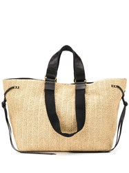 Isabel Marant Magnetic Fastening Straw Tote 60