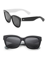 Kate Spade Lorelle 53Mm Wayfarer Sunglasses Black