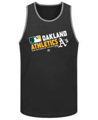 Majestic Men's Oakland Athletics Authentic Collection Choice Tank Top Green
