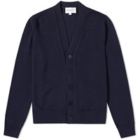 Norse Projects Adam Summer Cotton Cardigan Blue