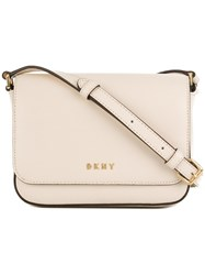 Donna Karan Bryant Crossbody Bag Nude And Neutrals
