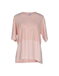 Lo Not Equal Topwear T Shirts Women Pink
