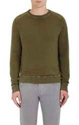 Massimo Alba Men's Cashmere Crewneck Sweater Green