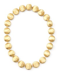 Marco Bicego Africa Gold Medium Bead Necklace 17 L