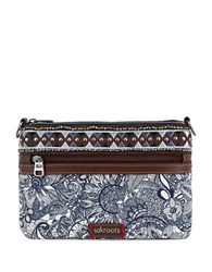 Sakroots Artist Circle Mini Crossbody Bag
