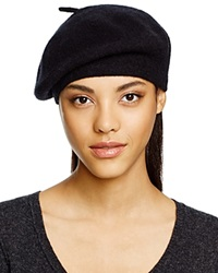 C By Bloomingdale's Cashmere Angelina Beret Black