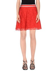 Imperial Star Imperial Skirts Mini Skirts Women Red