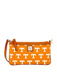 Dooney And Bourke Sports Tennessee Slim Wristlet Orange