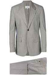 Maison Martin Margiela Micro Houndstooth Check Suit Nude And Neutrals
