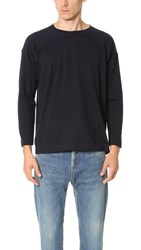 Chimala Long Sleeve Wide Tee Black