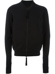 Thom Krom Zipped Sweatshirt Black