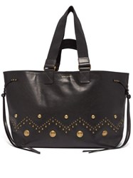 Isabel Marant Wardy Leather Tote Black