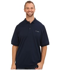 Columbia Perfect Cast Polo Extended Collegiate Navy Men's Clothing