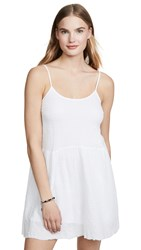 Nation Ltd. Ltd Layla Ruffle Dress White