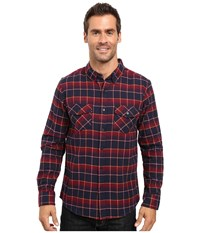 United By Blue Brooks Plaid Red Navy Men's Clothing Multi