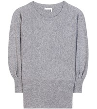 Chloe Cashmere Sweater Grey
