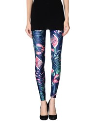 We Are Handsome Trousers Leggings Women Dark Blue