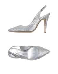 Martin Clay Pumps Gold