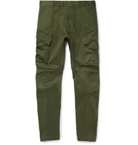 Nikelab Acg Tapered Stretch Cotton Cargo Trousers Green