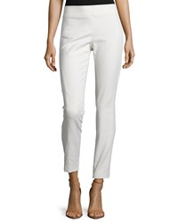 Kaufman Franco Skinny Leg Riding Pants Bone Ivory