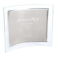 Addison Ross Curved Glass Photo Frame 8X10 Landscape