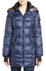 Women's Halifax Faux Fur Trim Hooded Quilted Parka