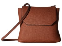 Ecco Jilin Crossbody Cognac Cross Body Handbags Tan