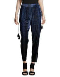 T Tahari Amy Printed Pants Royal