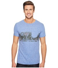Body Glove 47317 Power Shake Tee Royal Snow Heather Men's T Shirt Blue