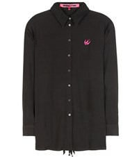 Mcq By Alexander Mcqueen Embroidered Shirt Black