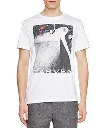 Carven Skate Graphic Tee Blanc