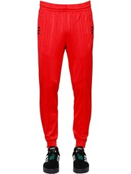 Adidas By Alexander Wang Aw Logo Jacquard Track Pants Orange