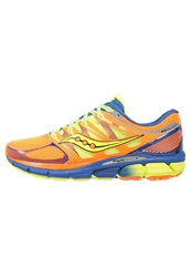 Saucony Zealot Lightweight Running Shoes Orange Blue Citron