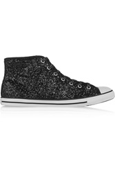 Converse Chuck Taylor Dainty Glitter Finished Canvas High Top Sneakers