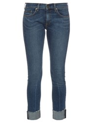 Rag And Bone Keiko Low Rise Skinny Jeans Denim