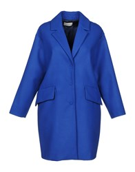 Vicolo Coats Bright Blue