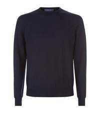 Ralph Lauren Purple Label Cashmere Sweater Navy
