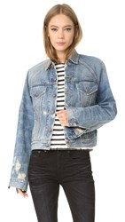 R 13 Raglan Trucker Jacket Brunel