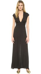 Rory Beca Big Sur Gown Onyx