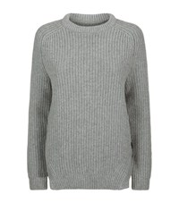 Barbour Tynemouth Crew Jumper Female Grey
