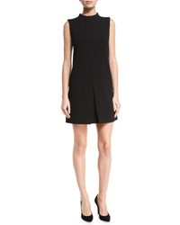 Alice Olivia Aris Drop Waist Shift Dress Black