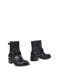 Jeannot Ankle Boots Black