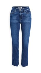 Paige Hoxton Slim Jeans Acoustic Distressed