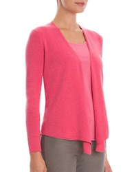Nic Zoe Plus Four Way Lightweight Cardigan French Rose