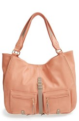Big Buddha 'Jana' Hobo Pink Blush Camel